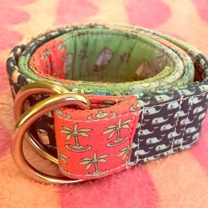 Vineyard Vines Patchwork Belt